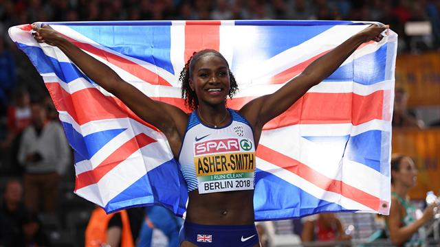Asher-Smith completes treble on another golden night for GB in Berlin