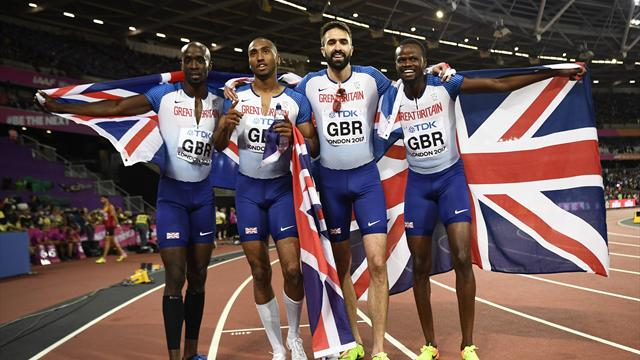 More medals for Team GB in track and field