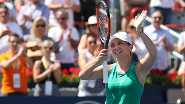 Halep turns back Barty to make Montreal final