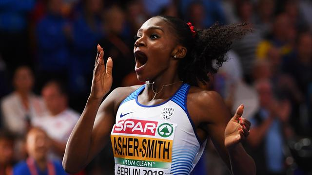 Dina Asher-Smith: I am just so stunned
