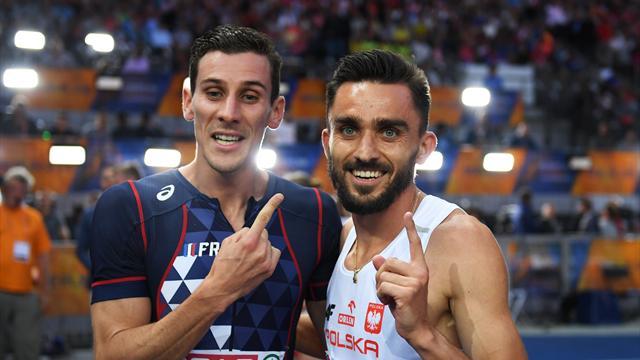 Pierre-Ambroise Bosse obtient le bronze sur 800 mètres — Championnats européens