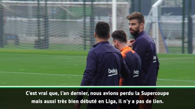 """Barcelone - Valverde : """"Pas de lien entre gagner la Supercoupe et bien débuter la Liga"""""""