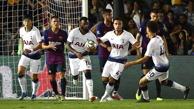 «Тоттенхэм» выиграл International Champions Cup, «Арсенал» – четвертый, «Барселона» – последняя