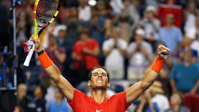 Nadal in Toronto im Finale gegen Favoritenschreck Tsitsipas