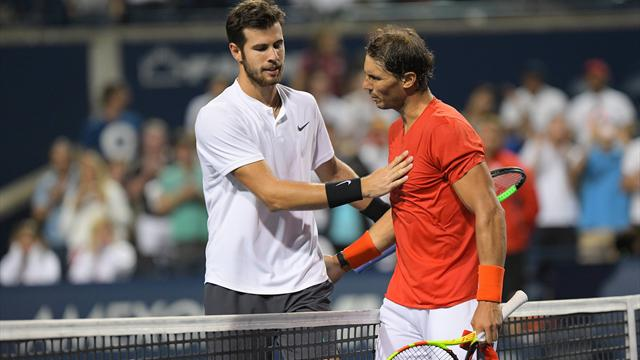 Nadal regola Khachanov e raggiunge Tsitsipas: lo spagnolo in finale a Toronto