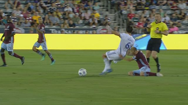 Colorado Rapids-San Jose Earthquakes 2-1, gli highlights