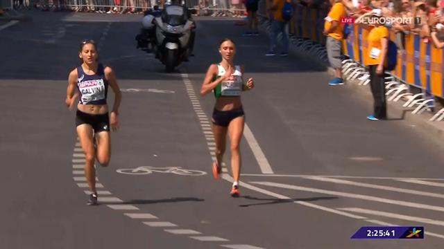 Sbaglia strada ma poi recupera e vince la volata: Volha Mazuronak oro nella maratona