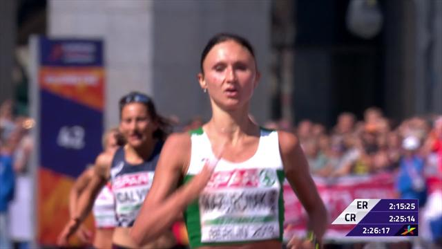 Leader Mazuronak goes wrong way right at the end - but wins marathon