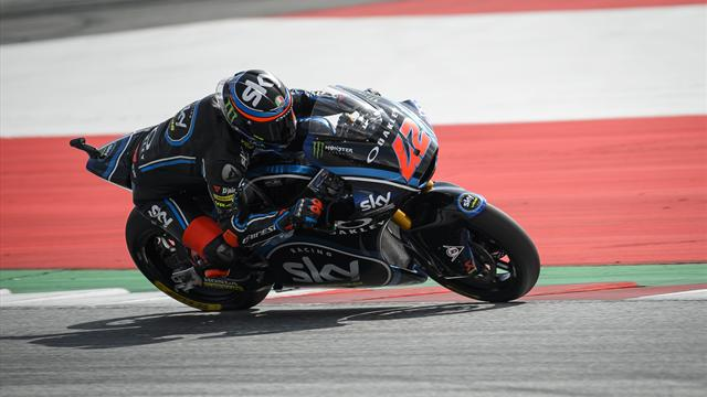 GP Autriche-Moto2: Bagnaia s'impose et reprend la tête