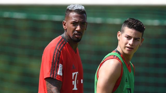 FC Bayern im Supercup ohne Boateng und James