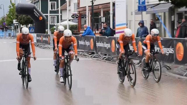 I bedrövligt väder segrade nederländskorna i Vårgårda