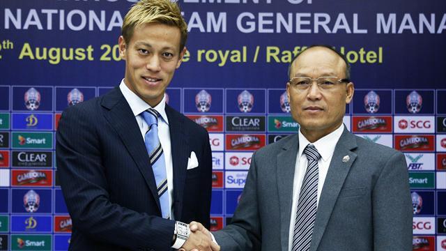 Honda wird Nationaltrainer von Kambodscha