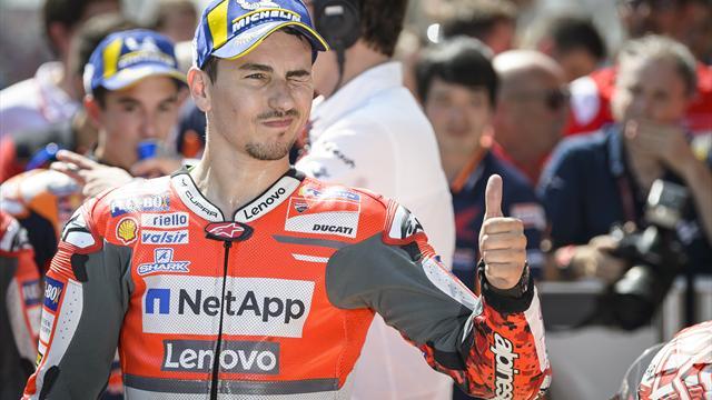 MotoGP: Lorenzo siegt vor Weltmeister Marquez