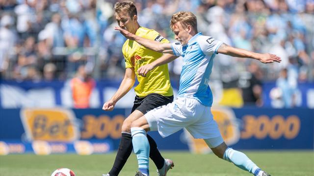 93. Minute! Uerdingen knockt TSV 1860 aus