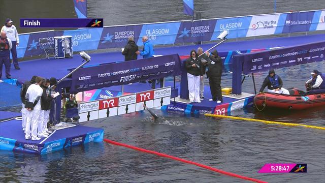 Freiwasserschwimmen: Medaillenkampf über 25 Kilometer