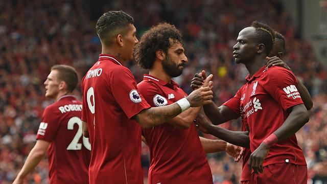 Liverpool repart très fort