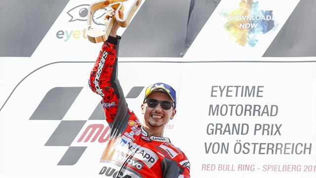 """Lorenzo : """"L'une des plus belles victoires de ma carrière"""""""