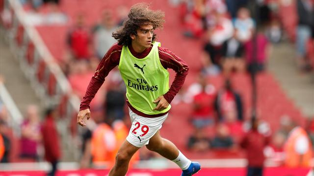 Guendouzi given Arsenal debut against Manchester City