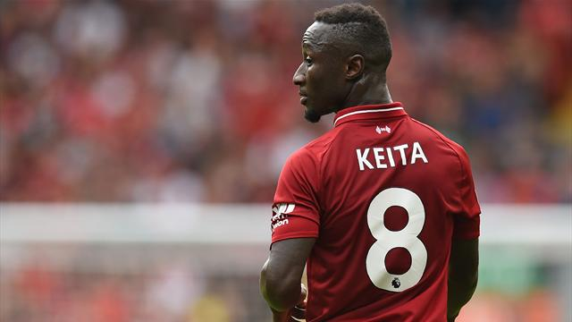 Naby Keïta becomes fourth Liverpool player to suffer injury on global duty