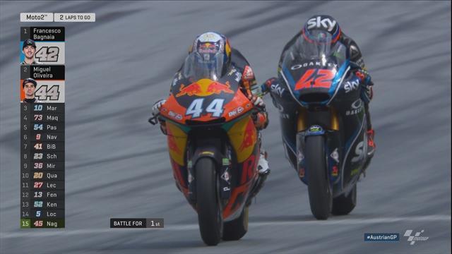 Bagnia kontert Oliveira aus: Die Highlights der Moto2