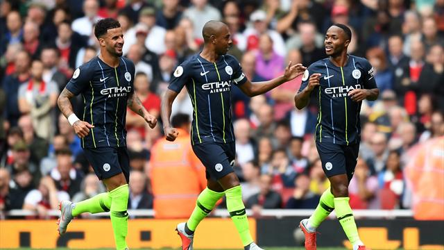 Sterling scores classy goal against Arsenal
