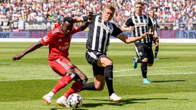 Es geht doch: HSV gelingt erster Zweitliga-Sieg in Sandhausen