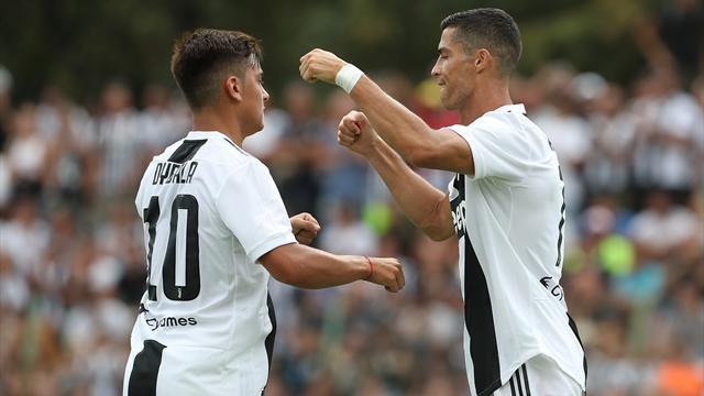 VÍDEO El gol de Cristiano en su debut con la Juventus