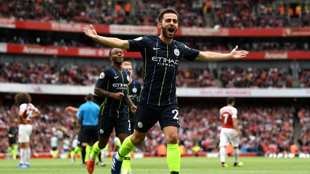 Arsenal, inizia male l'era post Wenger: Il Manchester City vince 2-0 all'Emirates