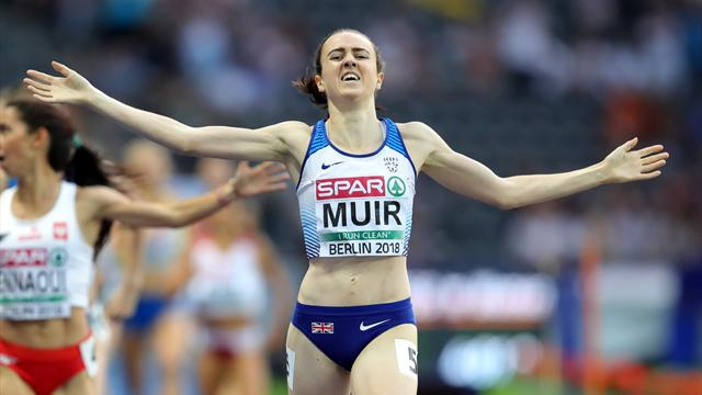 GB's Muir and Weightman take historic gold and bronze in 1500m