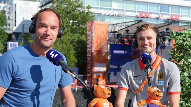EM-Vodcast mit Europameister Przybylko: Darum ist er kein Fußballer geworden