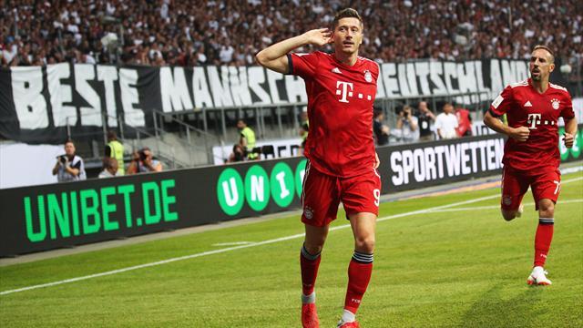 «Бавария» забила «Айнтрахту» 5 и взяла титул