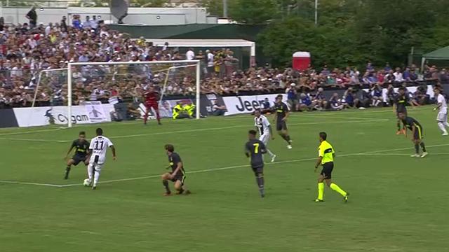Ronaldo e Dybala, grande festa Juventus: gli highlights del 5-0 a Villar Perosa