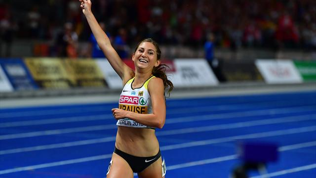 Krause gewinnt Gold über 3000 m Hindernis
