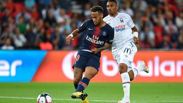 Neymar, Rabiot e Weah: il PSG batte 3-0 il Caen al debutto, poco lavoro per Buffon