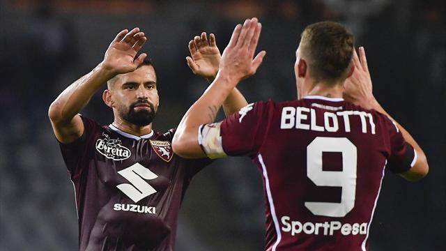 Coppa Italia: goleade per Torino e Sassuolo, subito eliminate Parma, Empoli e Frosinone