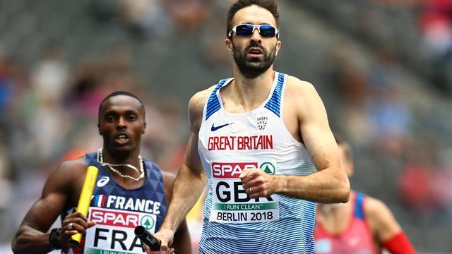 La France termine 4e, la Grande-Bretagne sacrée sur 4x100m