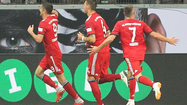Lewandowski trifft dreifach, Kovac jubelt: Bayern holen Supercup