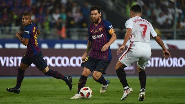 «Барселона» взяла первый трофей в сезоне