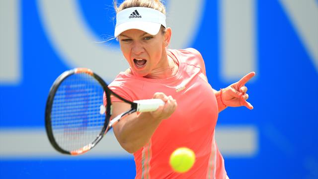 Halep holds off Stephens challenge to claim Rogers Cup crown