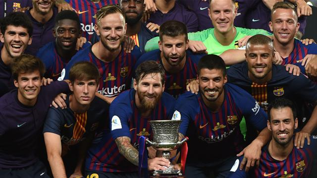 Dembélé trifft, ter Stegen hält Elfmeter - Barça holt Supercup