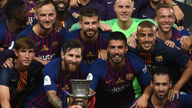 Ter Stegen sichert Barcelona den spanischen Supercup