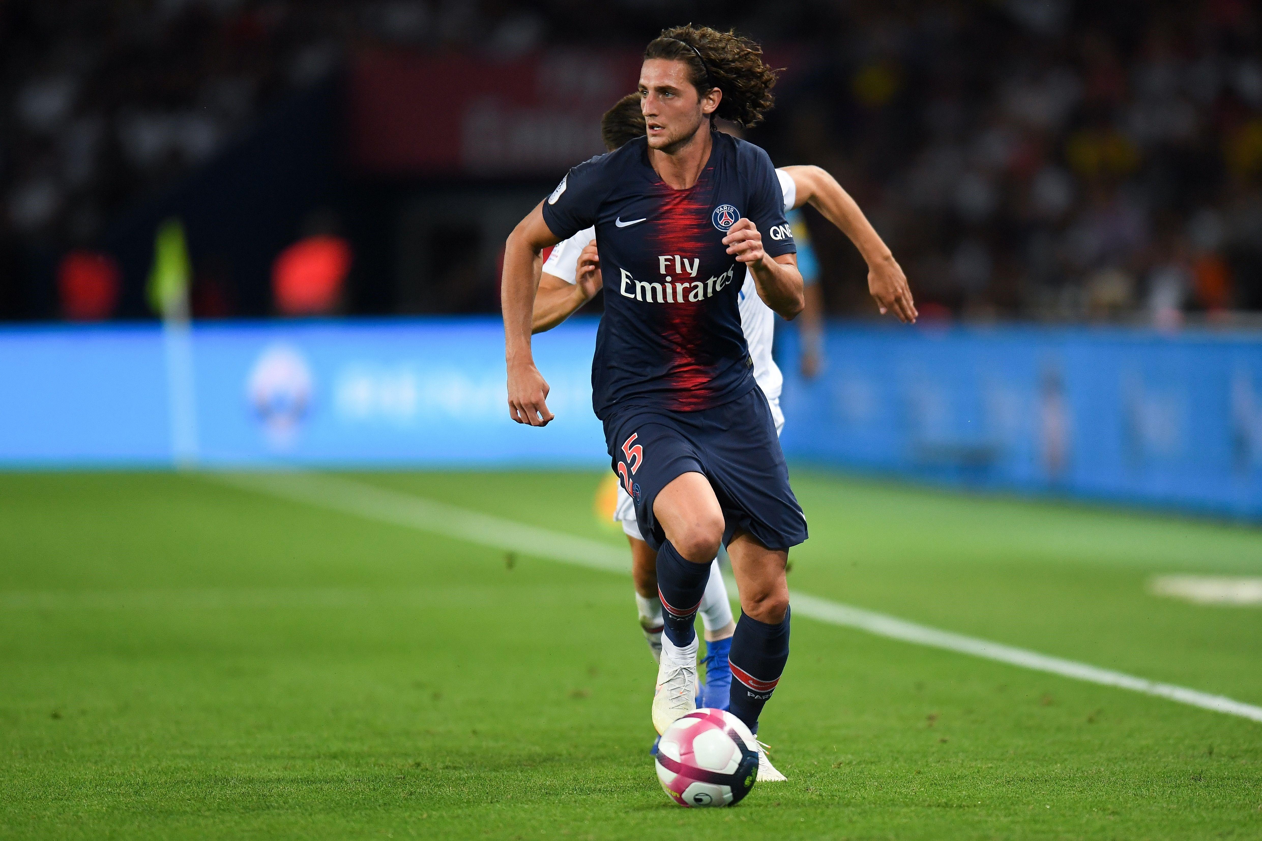 Adrien Rabiot avec le PSG - 2018