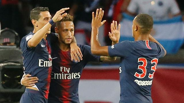 Neymar strikes as Tuchel's youthful PSG seal win over Caen