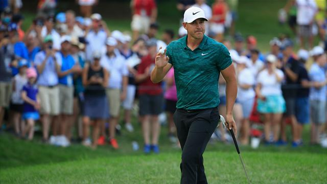 Koepka wins PGA Championship by two strokes from Woods