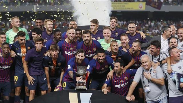 1-2. La Supercopa de Dembélé y Ter Stegen