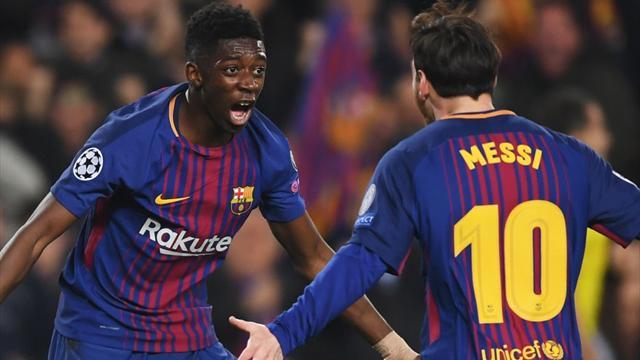 Bomba di Dembélé e il Barcellona batte 2-1 il Siviglia: riguarda la sua prodezza