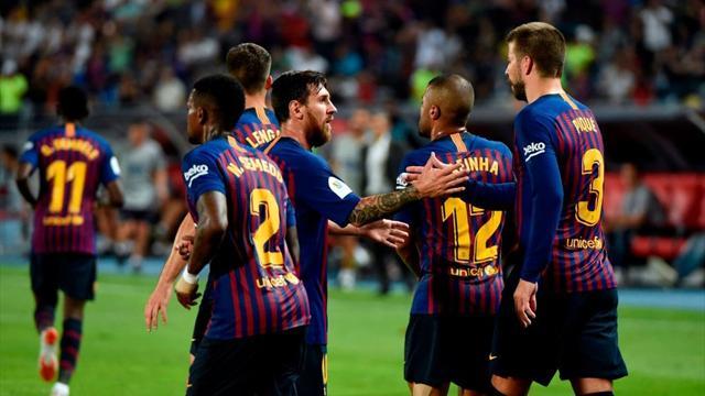 Siviglia-Barcellona 1-2: gli highlights della sfida decisa dal gran gol di Dembélé