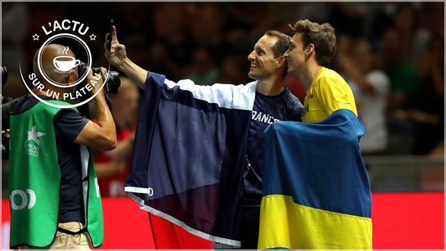 Passage de témoin, PSG, Nadal, Tiger, Pouille-Murray : l'actu sur un plateau