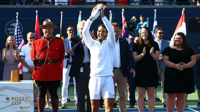 Надаль обыграл Циципаса и стал четвертым теннисистом, выигравшим 80 одиночных титулов