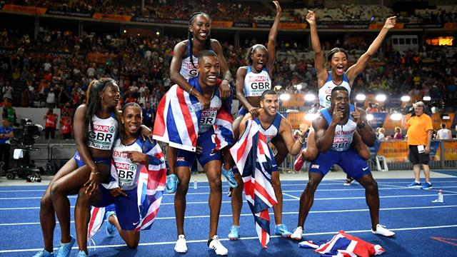 The golden games: All GB's 26 titles at the European Championships